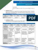 UDP-TEP Evaluation Criteria