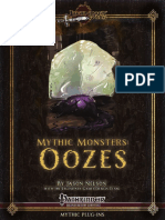 Mythic Monsters - Oozes