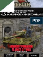 Berlin - GER Marine-Grenadierkompanie