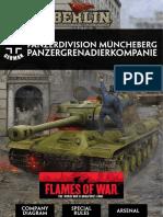 Berlin - GER Panzerdivision Muncheberg Panzergrenadierkompanie