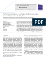 Precise Instrumentation of a Diesel Single-cylinder Research Engine