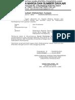 Surat Perintah Tugas Anto