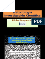 Metodologia Investigacion Cientifica