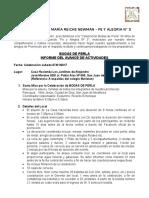 Informe de Avances María Reiche Bodas de Perla