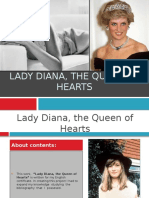 Lady Diana, The Queen of Hearts