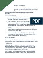 accounting profit vs economics profit