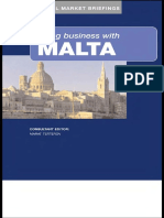 Marat Terterov, Jonathan Reuvid-Doing Business With Malta (2005)
