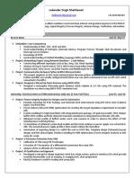Embedded resume