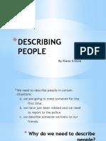 Describing People Presentation