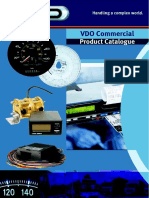 VDO Commercal Product Catalogue