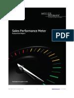 Example Sales Performance Meter Report
