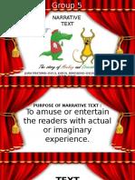 English - Narrative Text
