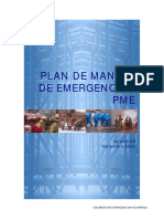 Plan de Manejo de Emergencias
