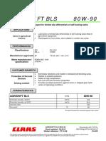 Agrishift Bls 80w-90 a 0612