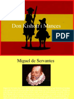 don kishoti i mances