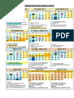 Calendario 2016-17 Ceip