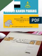 Hukum Kanun Pahang