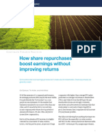 How Share Repurchases Boost Earnings Without Improving Returns
