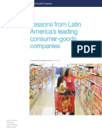Lessons From Latin Americas Leading Consumer Goods Companies