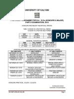 U.G.part IIExam.schedule2016