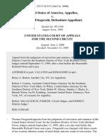 United States v. Thomas Fitzgerald, 232 F.3d 315, 2d Cir. (2000)