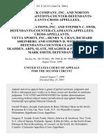 The Herrick Company, Inc. And Norton Herrick, Plaintiffs-Counter-Defendants-Appellants-Cross-Appellees v. Scs Communications, Inc. And Stephen C. Swid, Defendants-Counter-Claimants-Appellees-Cross-Appellants, Vetta Sports, Inc., Henry N. Chan, Richard Sheinberg and Stephen D. Weinroth, Defendants-Counter-Claimants, Skadden, Arps, Slate, Meagher & Flom, LLP and Mark Smith, 251 F.3d 315, 2d Cir. (2001)