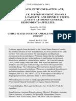 Ronald Davis v. Wayne Strack, Superintendent, Fishkill Correctional Facility and Dennis C. Vacco, New York State Attorney General, 270 F.3d 111, 2d Cir. (2001)
