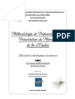 Guide de Présentation du PFE