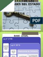 ley de control interno de entidades del Estado
