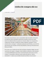 PropMark Nielsen - 70% Das Decisões de Compra São No PDV