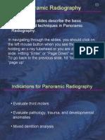 Radiology Panoramic Technique