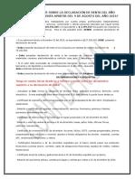 Información Renta 2015