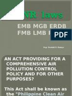 DENR  Laws