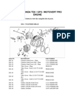 Parts of Motorcycle Engine