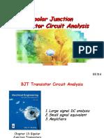 Lecture13 BJT Transistor Circuit Analysis