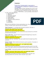 Ten Rules of Asl Grammar From Internet