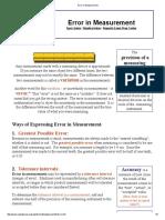 Error in Measurement.pdf