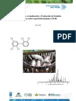 Recopilación, Actualización y Evaluación de Estudios Científicos Sobre Exposición Humana a PCBs. Año 2015