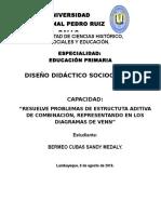 DISEÑO DIDÁCTICO Nº1