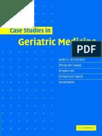geriatric medicine cases