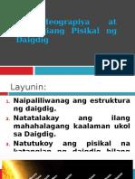 Ang Katangiang Pisikal at Estruktura Ng Daigdig