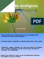 Biologia PPT - Botânica - Ecologia Relacoes