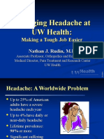 1 24 07 Rudin Headache for MDs 2007