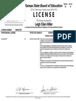 leigh miller license