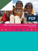 Ninez Adolescencia Intergeneracionalidad Ecuador 2016 WEB2