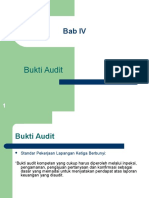 Bukti Audit Pertemuan 6