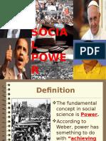 Social Power