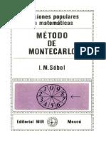 Método de Montecarlo I. M. Sobol