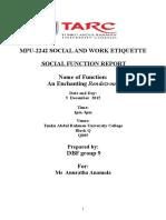 SWE Report Sample (1)