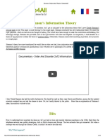 Shannon's Information Theory _ Science4All